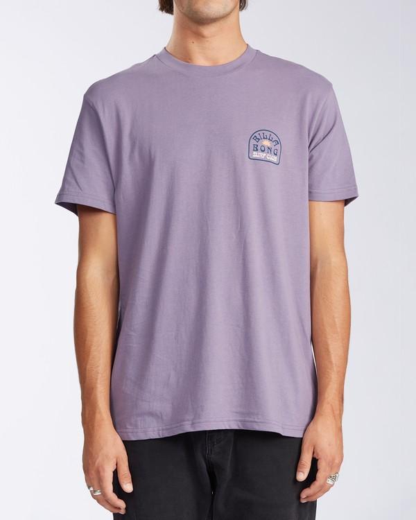 0 Tanzania Short Sleeve T-Shirt Purple ABYZT00114 Billabong