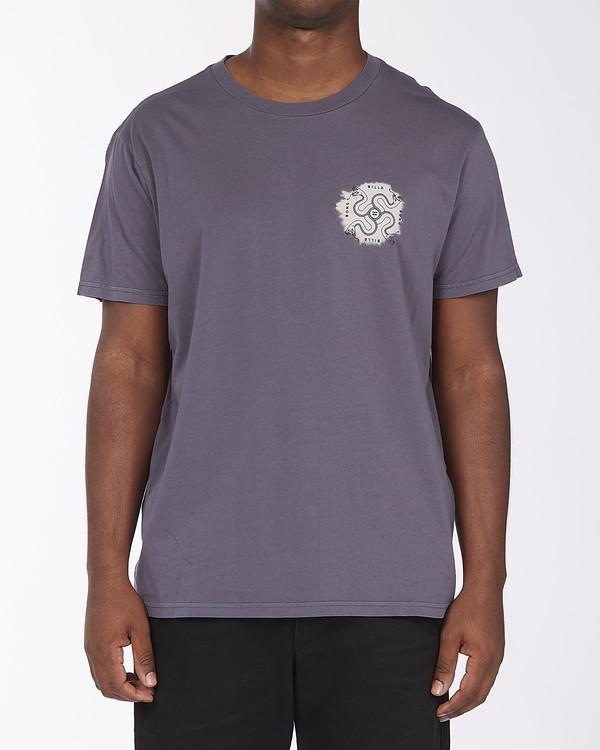 0 Dye Cut Short Sleeve Wave Washed T-Shirt White ABYZT00126 Billabong