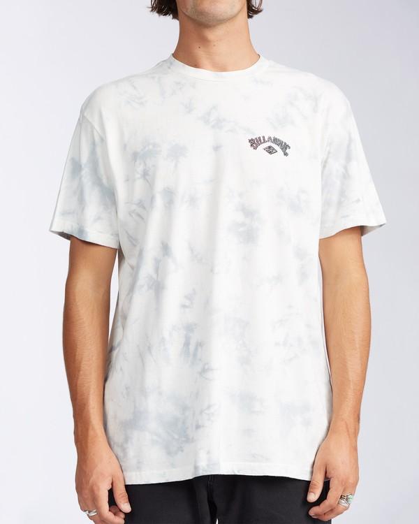0 Arch Tie Dye Short Sleeve T-Shirt White ABYZT00140 Billabong