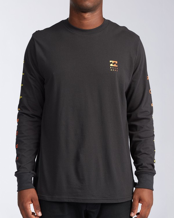0 Unity Long Sleeve T-Shirt Black ABYZT00150 Billabong