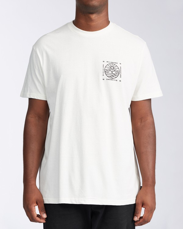 0 Acadia Short Sleeve T-Shirt White ABYZT00186 Billabong