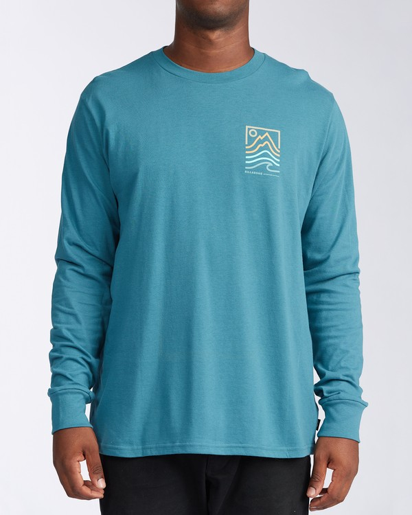 0 Peak Long Sleeve T-Shirt Blue ABYZT00187 Billabong