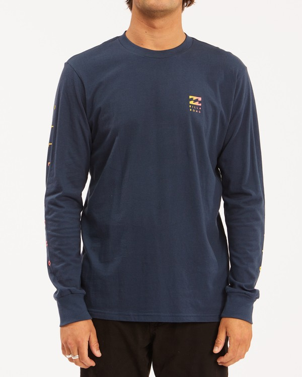 0 Unity Long Sleeve T-Shirt Blue ABYZT00190 Billabong