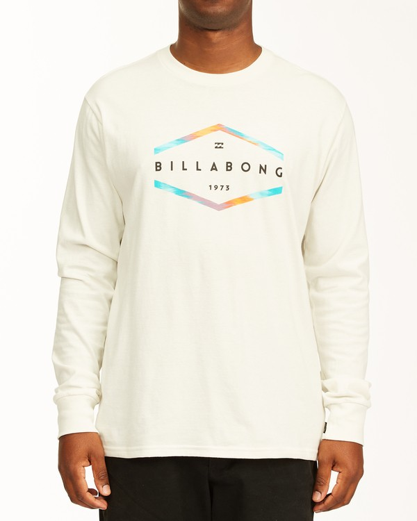 0 Entry Long Sleeve T-Shirt White ABYZT00192 Billabong