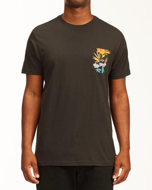 0 Team Pocket T-Shirt Black ABYZT00198 Billabong