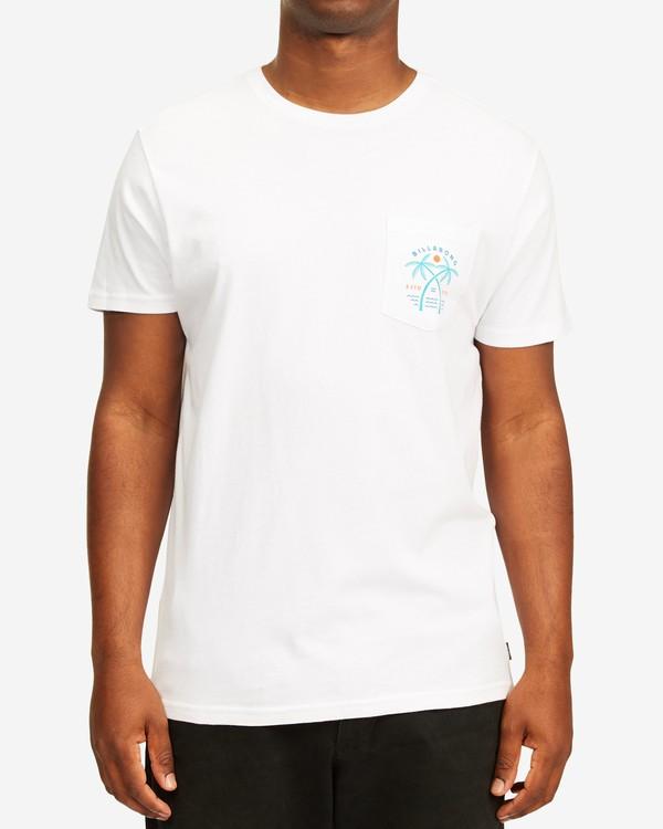 0 Schooner Pocket T-Shirt White ABYZT00201 Billabong
