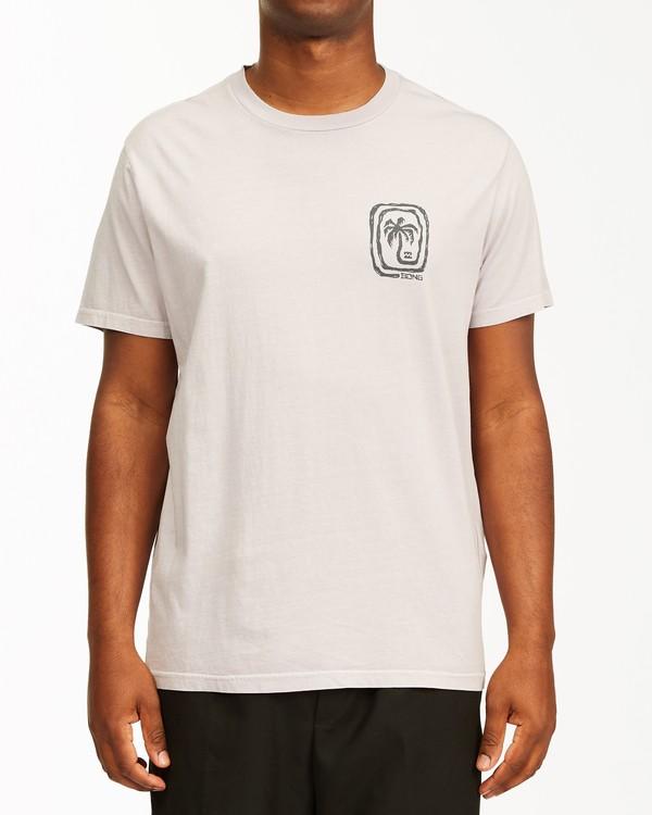 0 Maze Short Sleeve Wave Washed T-Shirt Purple ABYZT00213 Billabong