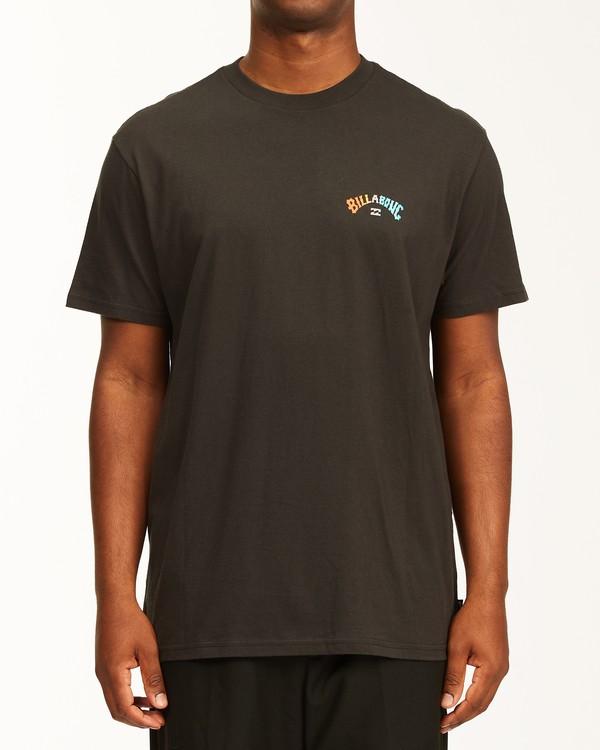 0 Arch Fill Short Sleeve T-Shirt Black ABYZT00225 Billabong