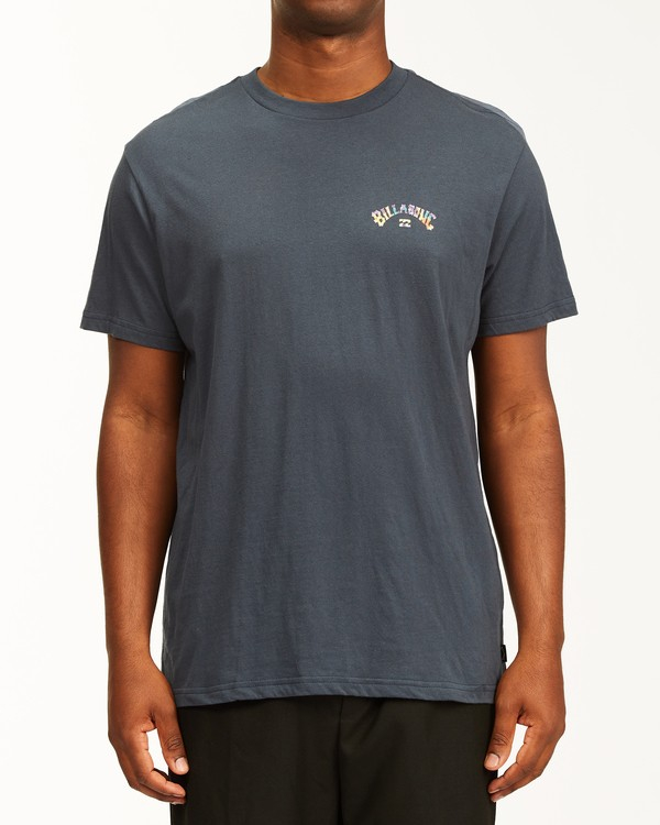 0 Arch Fill Short Sleeve T-Shirt Blue ABYZT00225 Billabong