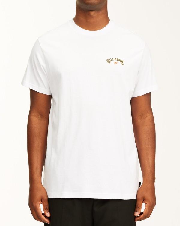 0 Arch Fill Short Sleeve T-Shirt White ABYZT00225 Billabong
