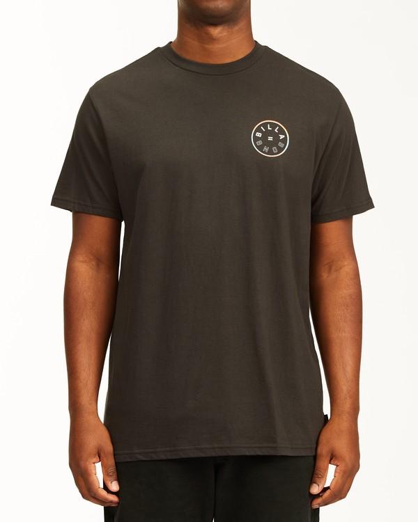 0 Rotor Short Sleeve T-Shirt Black ABYZT00229 Billabong