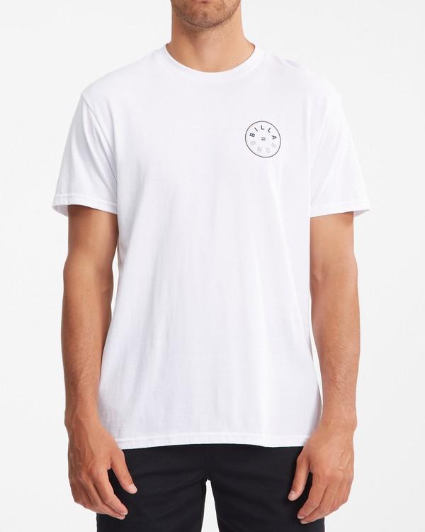 0 Rotor Short Sleeve T-Shirt White ABYZT00229 Billabong