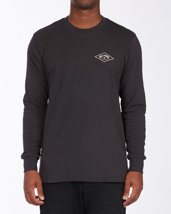 0 A/Div Diamond Long Sleeve T-Shirt Black ABYZT00265 Billabong