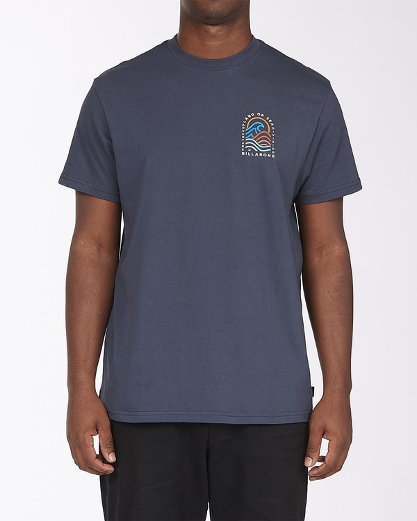 0 Transition Short Sleeve T-Shirt Blue ABYZT00286 Billabong