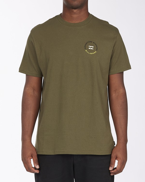 0 View Short Sleeve T-Shirt Green ABYZT00287 Billabong