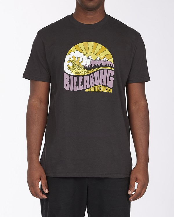 0 A/Div Ridge Short Sleeve T-Shirt Black ABYZT00288 Billabong