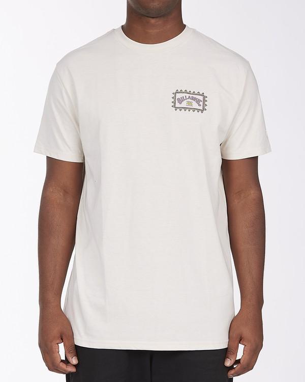 0 Arch Wave UV Short Sleeve T-Shirt Brown ABYZT00293 Billabong
