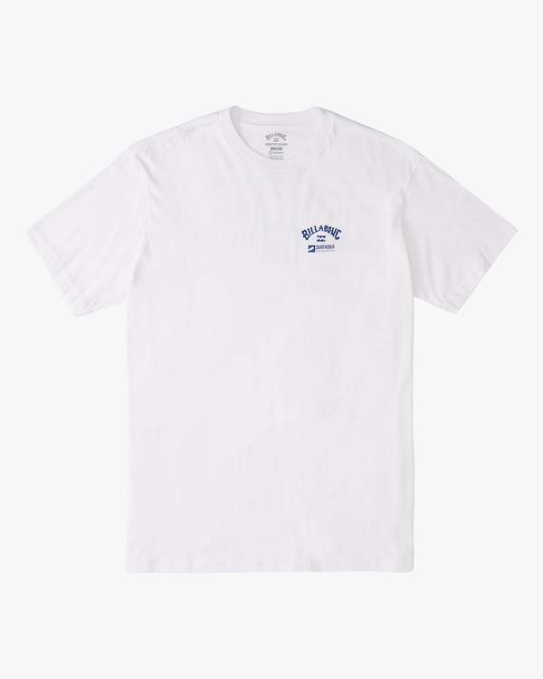 0 Surfrider World Flag Short Sleeve T-Shirt White ABYZT00302 Billabong