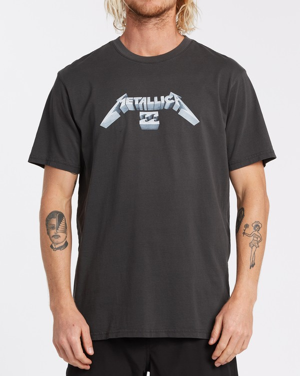 0 Metallica Master of Puppets T-Shirt  ABYZT00320 Billabong