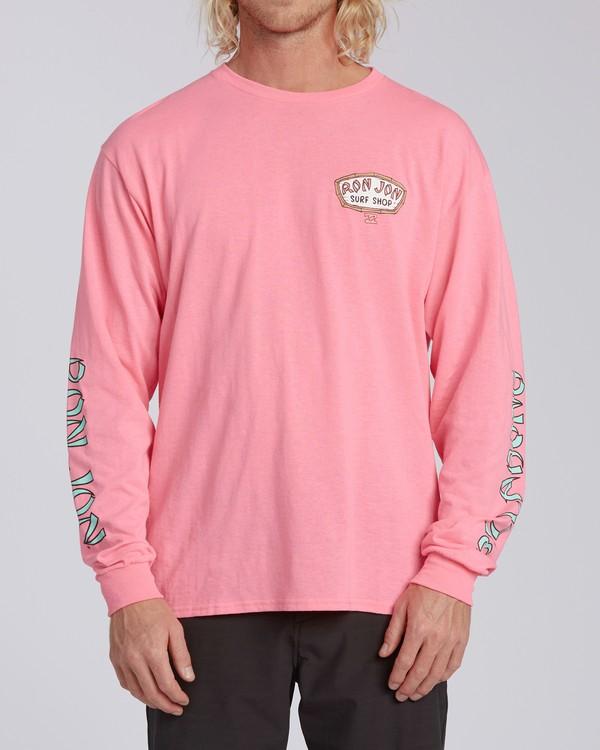 0 Rio de Janeiro Dawn Patrol Short Sleeve T-Shirt Pink ABYZT00331 Billabong