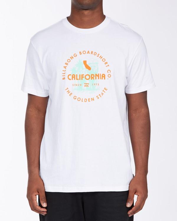 0 Seal California Short Sleeve T-Shirt White ABYZT00348 Billabong