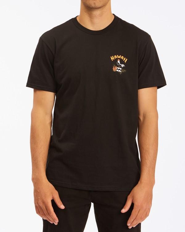 0 Arch Hawaii Short Sleeve T-Shirt Black ABYZT00354 Billabong