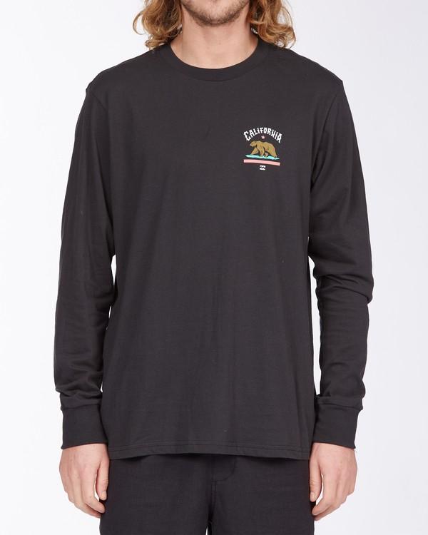 0 Arch California Long Sleeve T-Shirt Black ABYZT00364 Billabong