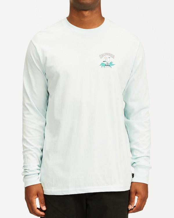 0 Arch California Long Sleeve T-Shirt Blue ABYZT00364 Billabong
