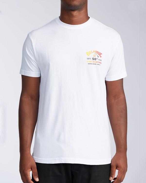 0 Pipe Masters Short Sleeve T-Shirt White ABYZT00376 Billabong