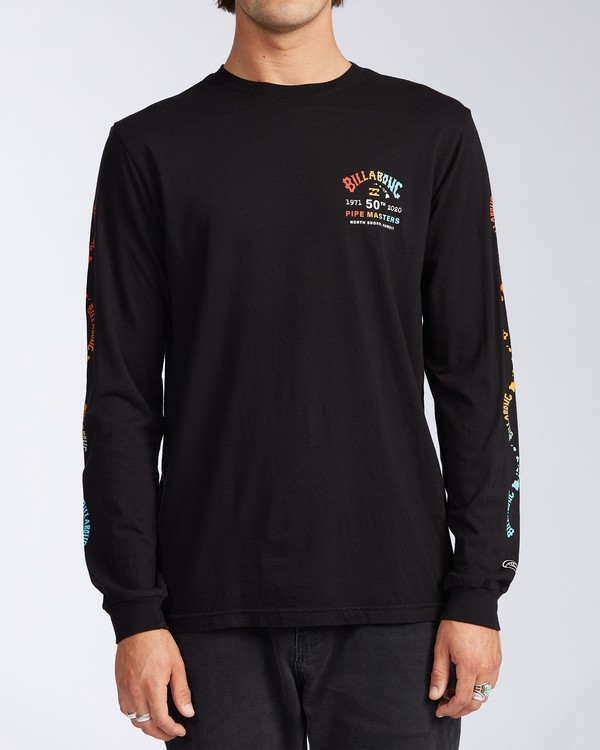 0 Pipe Masters Long Sleeve T-Shirt  ABYZT00387 Billabong