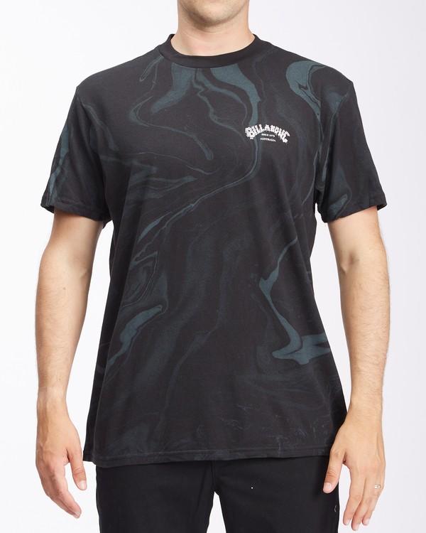 0 Marble Arch Short Sleeve T-Shirt Black ABYZT00395 Billabong
