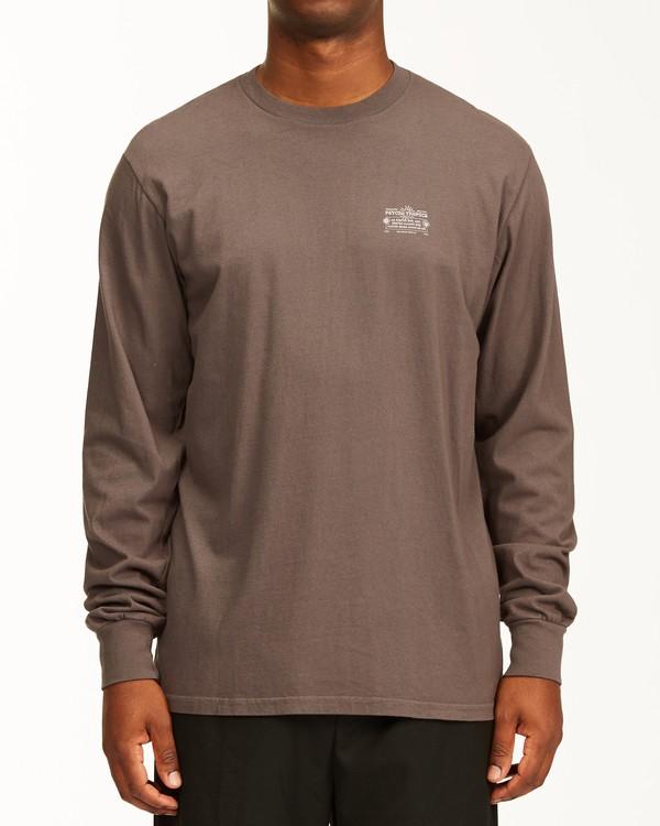 0 Eternal Sunshine Long Sleeve Wave Washed T-Shirt White ABYZT00400 Billabong