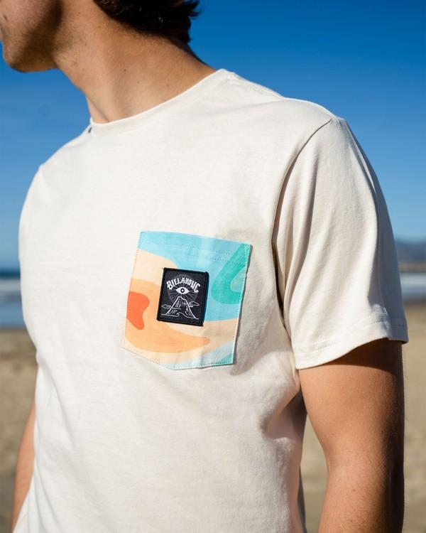 0 Desert Trip Short Sleeve T-Shirt Red ABYZT00406 Billabong