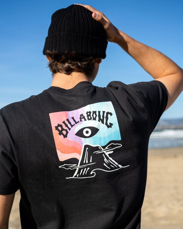 0 Eyesolation Arch Short Sleeve T-Shirt Black ABYZT00408 Billabong