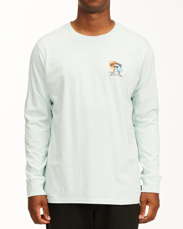 0 Eyesolation Arch Long Sleeve T-Shirt Blue ABYZT00411 Billabong