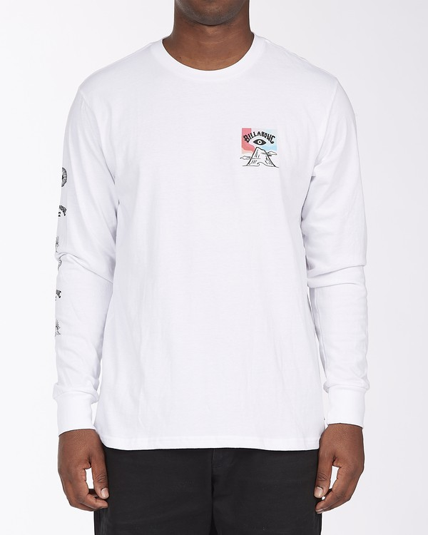 0 Eyesolation Long Sleeve T-Shirt White ABYZT00412 Billabong
