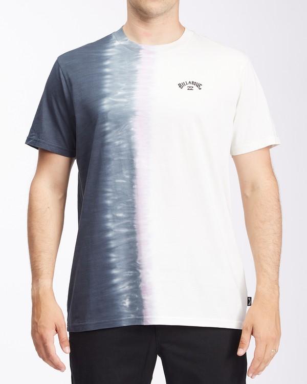0 Arch Wave Tie-Dye Short Sleeve T-Shirt White ABYZT00511 Billabong