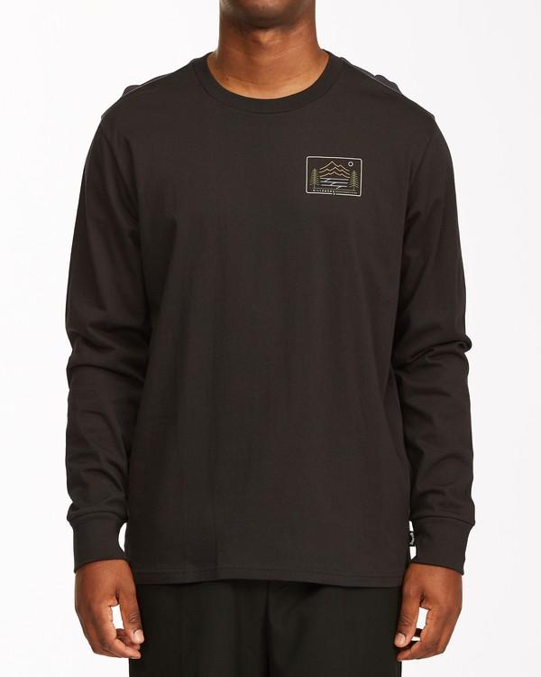 0 Hwy 101 Long Sleeve T-Shirt Black ABYZT00545 Billabong