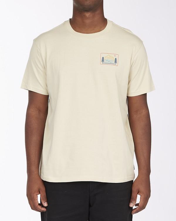 0 Hwy 101 Short Sleeve T-Shirt Red ABYZT00569 Billabong