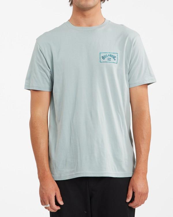 0 A/Div Arch Short Sleeve T-Shirt Green ABYZT00592 Billabong