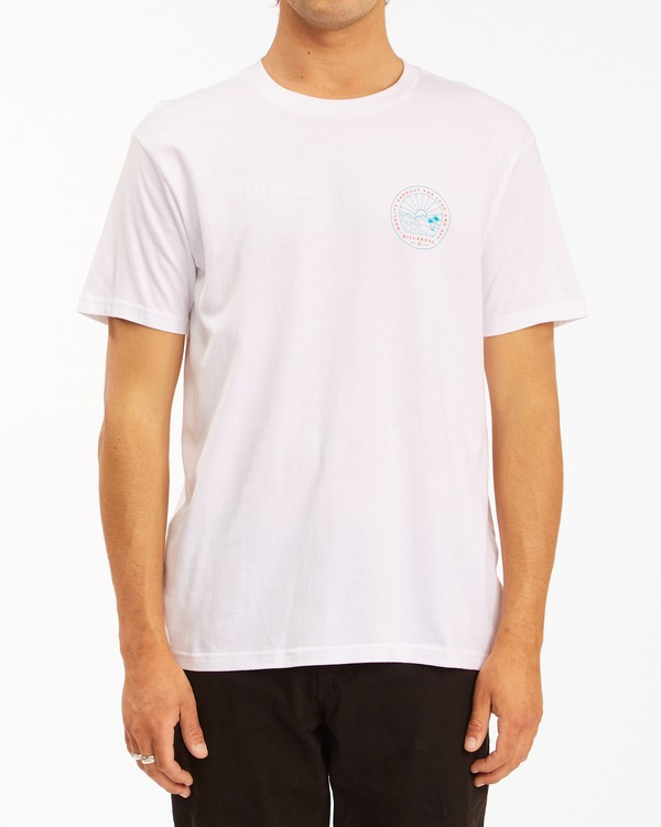 0 A/Div Scenery Short Sleeve T-Shirt White ABYZT00594 Billabong