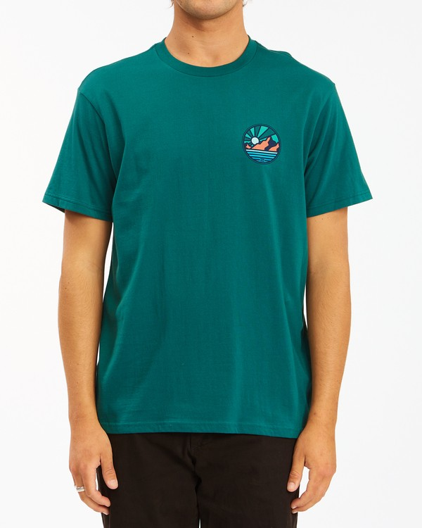 0 A/Div Rockies Short Sleeve T-Shirt Orange ABYZT00595 Billabong