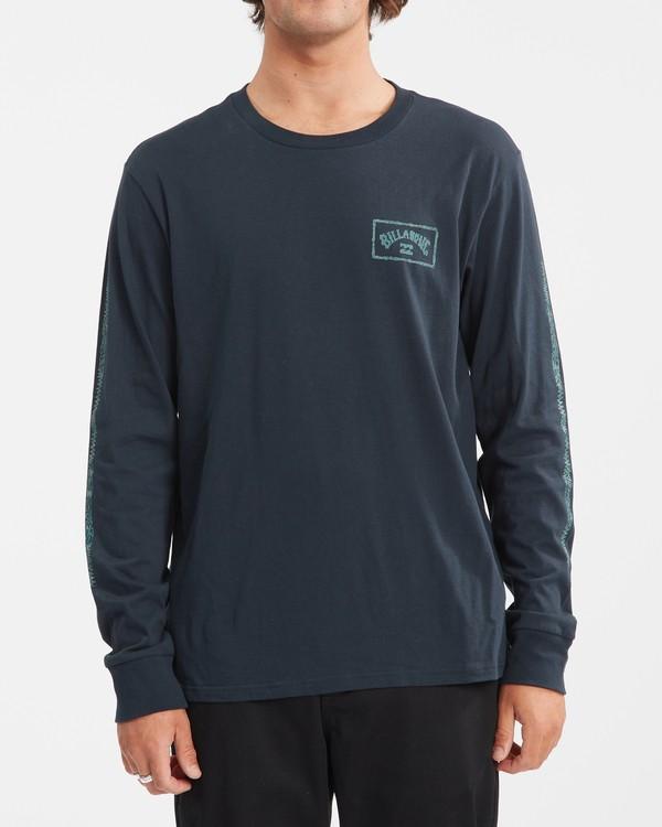 0 A/Div Arch Long Sleeve T-Shirt Blue ABYZT00600 Billabong
