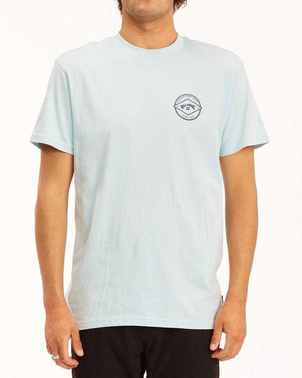 0 Rotor Arch Short Sleeve T-Shirt Blue ABYZT00605 Billabong