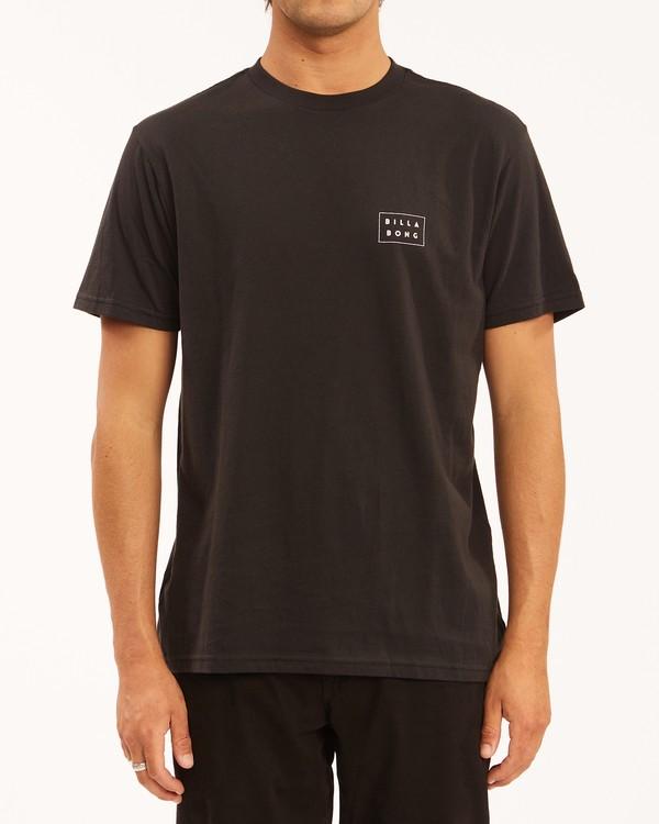 0 Diecut Short Sleeve T-Shirt Black ABYZT00606 Billabong