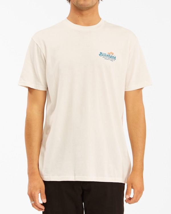 0 Lounge Short Sleeve T-Shirt White ABYZT00609 Billabong