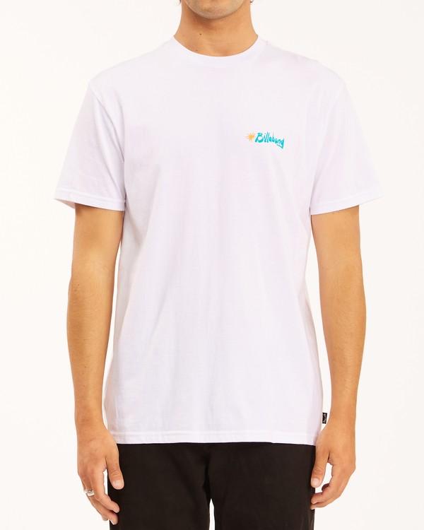 0 Peak Short Sleeve T-Shirt White ABYZT00614 Billabong