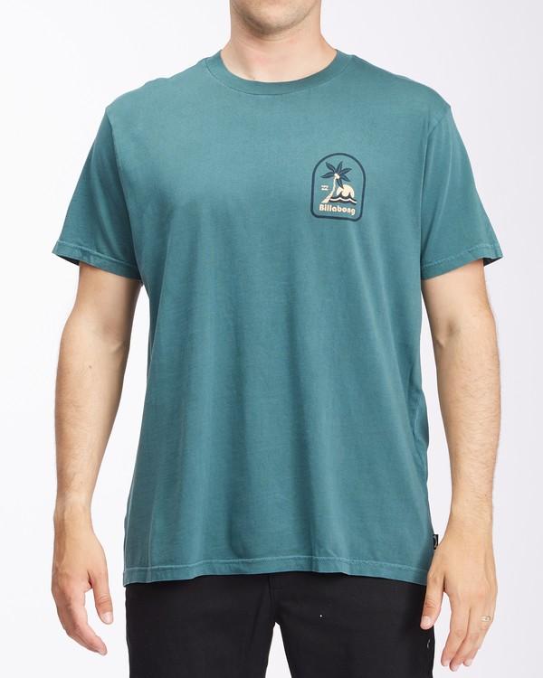 0 Lounge Wave Washed Short Sleeve T-Shirt Orange ABYZT00622 Billabong