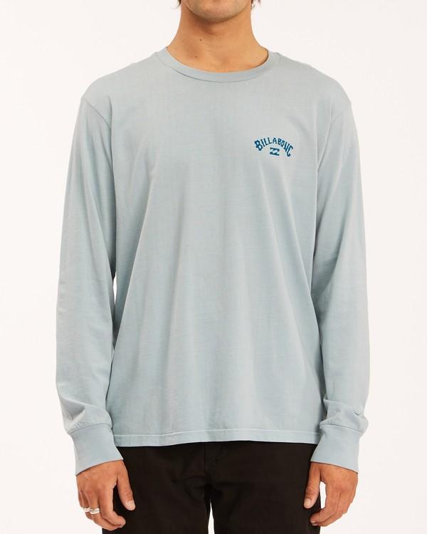 0 Archwave Wave Washed Long Sleeve T-Shirt Orange ABYZT00629 Billabong