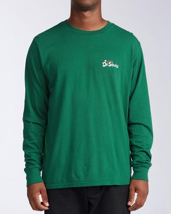 0 Vacay Grinch Long Sleeve T-Shirt Grey ABYZT00643 Billabong